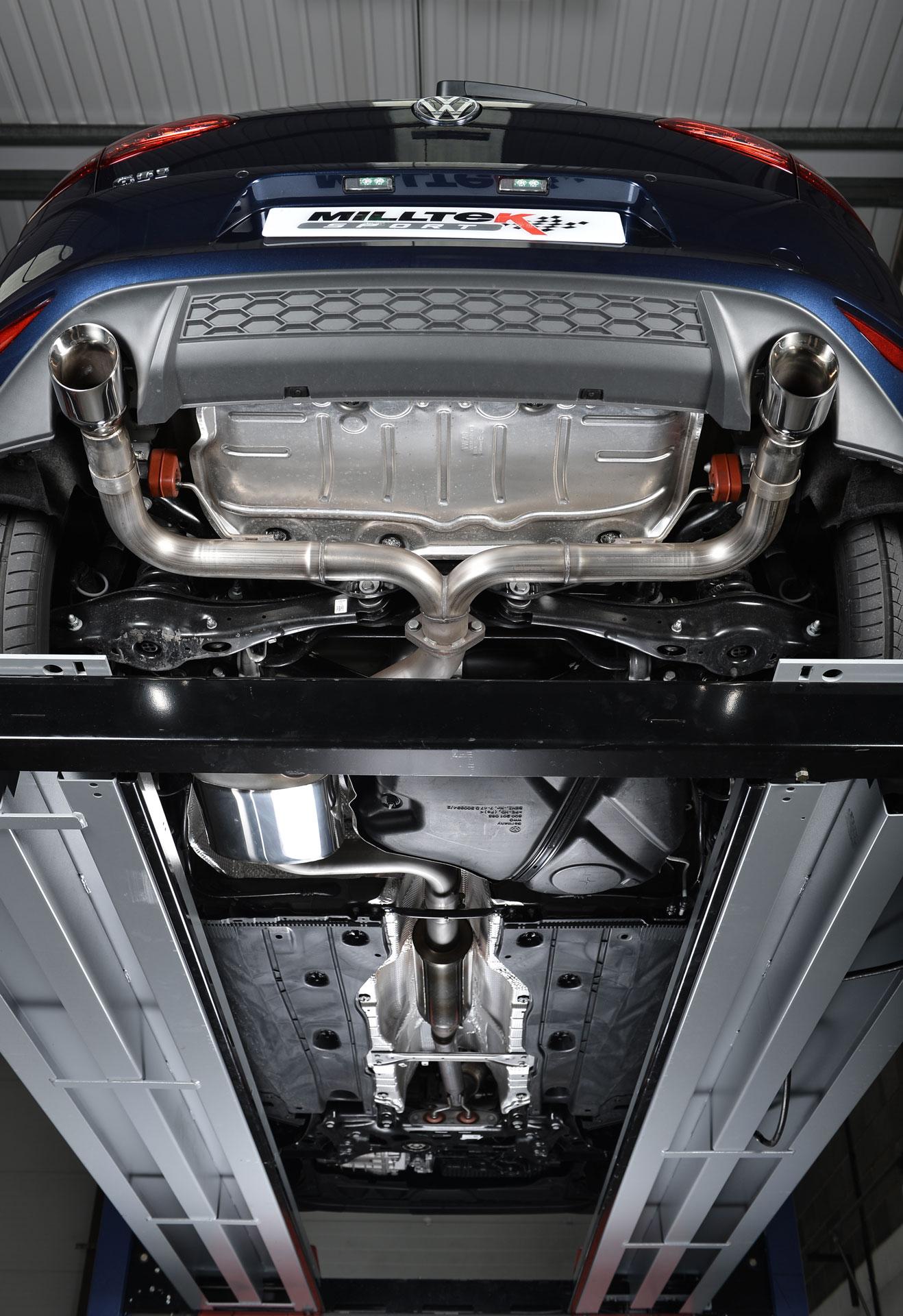 VW Golf GTi Mk7 Performance Exhaust